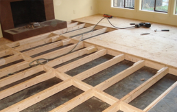 Subfloor Repair and Installation