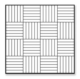 Checkerboard Hardwood Floor Installation